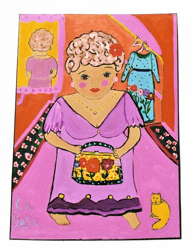 la bolsa. From Art, Memories, and Poetry: La Bolsa–The Purse, by Sonya Gonzalez