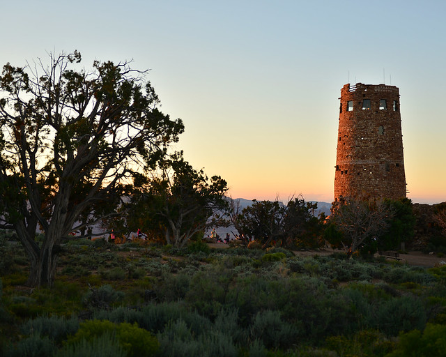 Desert View Watchtower en el Gran Cañón