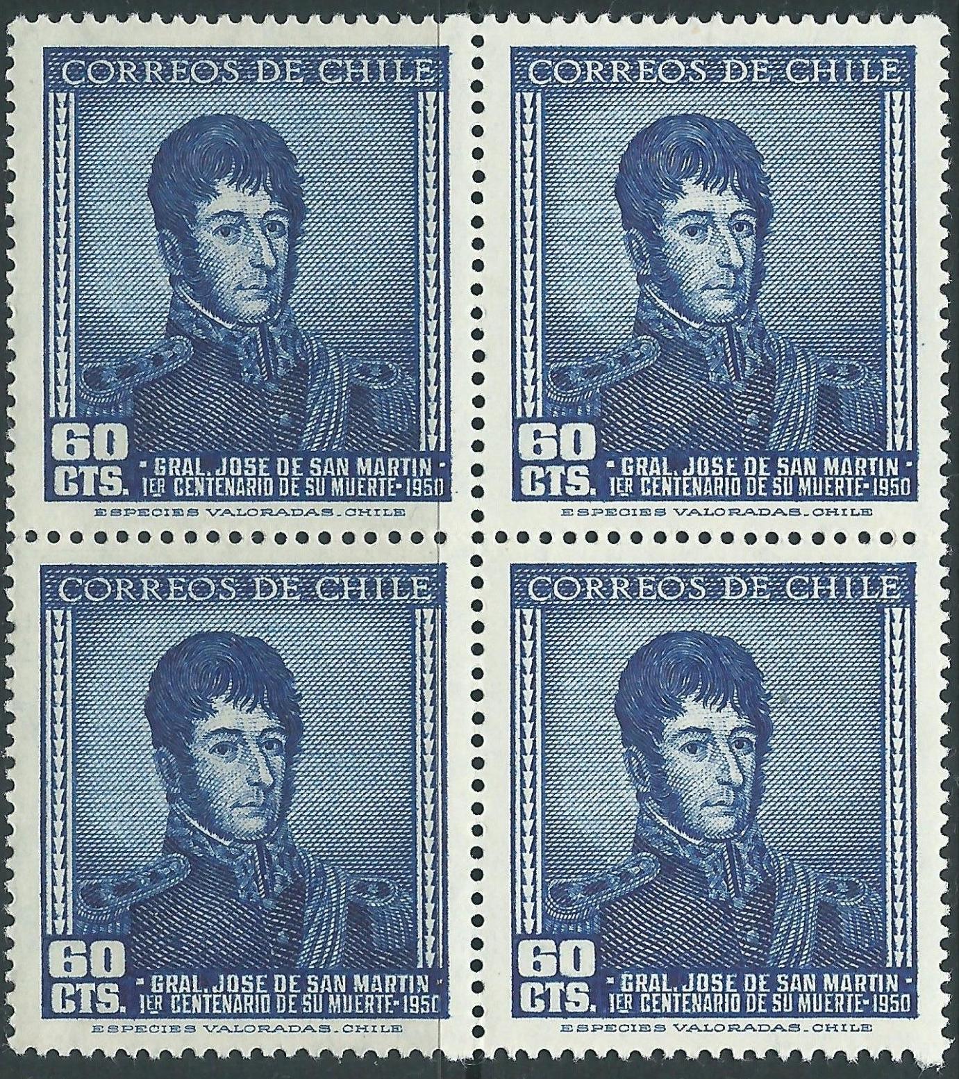 Chile - Scott #263 (1951)
