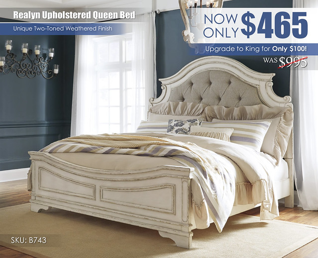 Realyn Upholstered Bed Special_B743-58-56-97