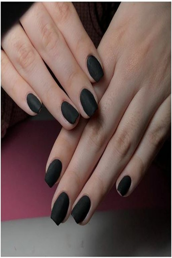 The Most Eye-Catching Matte Nail Ideas Trends 2019 #nail_art_designs #trendy_nails #matte_nails