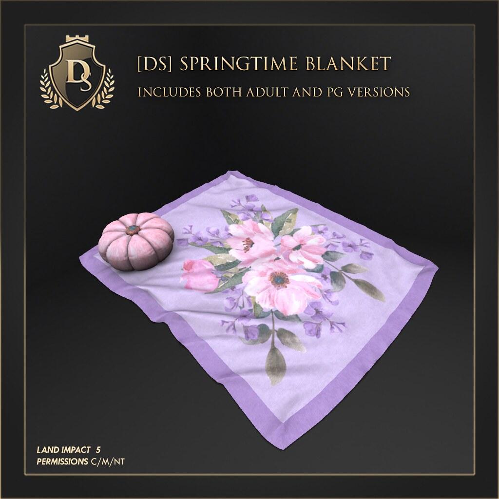 Dictatorshop Springtime Blanket