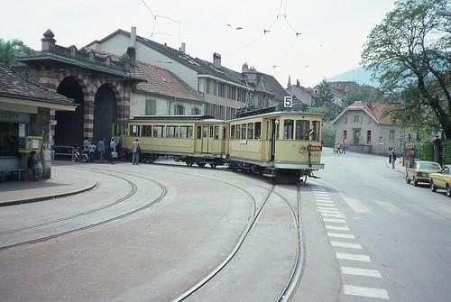 Trams de Neuchâtel (Suisse)
