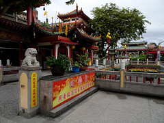 Another view of Shen An temple in Hualien