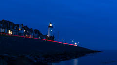 The Lighthouse of Urk after Sunset