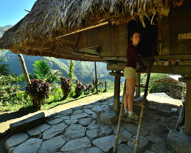 Alojamiento Transient House en un auténtico ifugao filipino