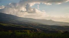 Golden hour in Mt. Kanlaon