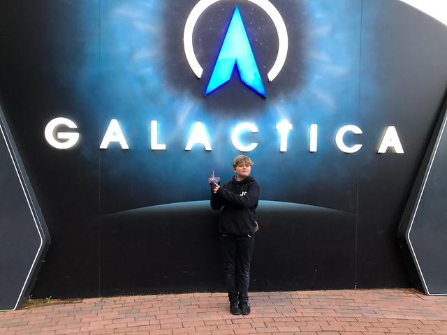 Galactica at Alton Towers