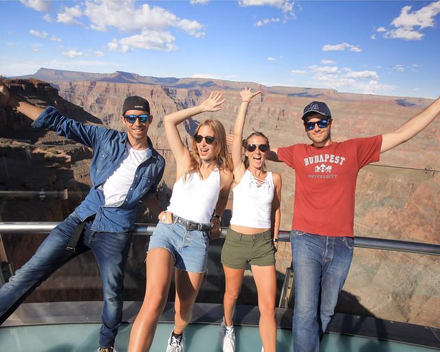 Nuestra visita al skywalk del Gran Cañón del Colorado