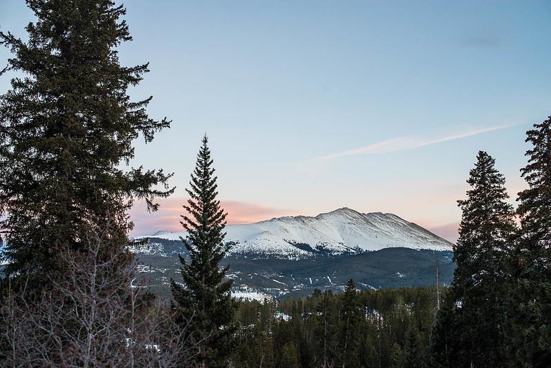 Colorado desde el coche