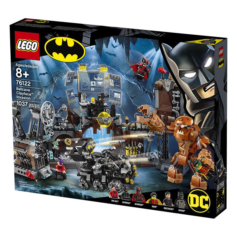 Batcave Clayface Invasion (76122)