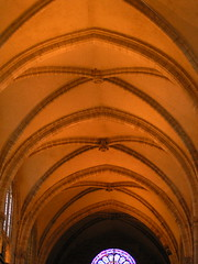 20080516 23615 0906 Jakobus Montbrison Kirche Gewölbe - Photo of Chalain-d'Uzore