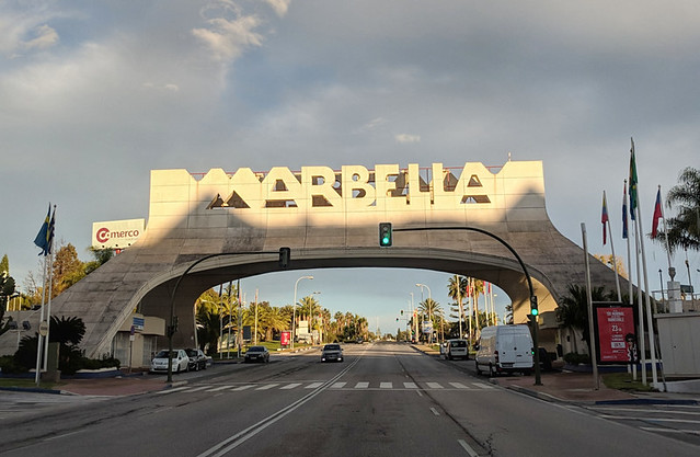 Marbella bridge