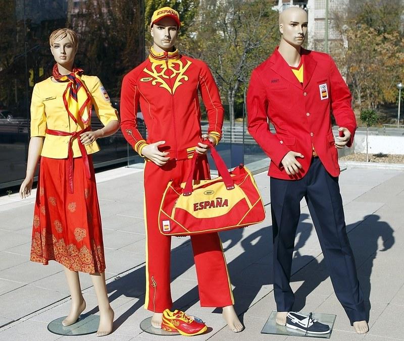Equipación España Olimpiadas Londres