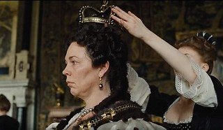 Olivia Colman as Queen Anne in The Favorite