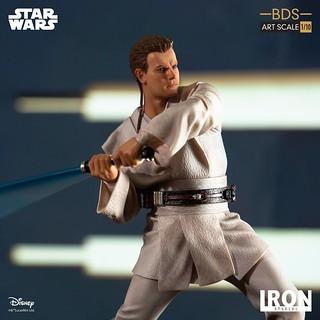 Iron Studios《星際大戰首部曲:威脅潛伏》歐比王·肯諾比 Obi-Wan Kenobi 1/10 比例決鬥場景雕像作品