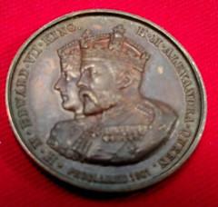 Baloon School medal obverse