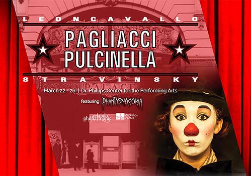 Opera Orlando Pairs Leoncavallo's Pagliacci and Igor Stravinsky's Pulcinella