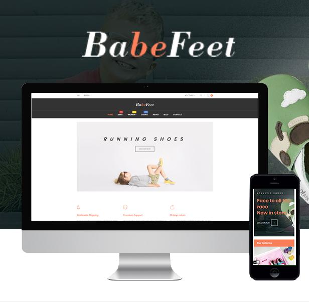 Ap Babe Feet Kids Store Prestashop Theme - Kids Shoes Store & Baby Fashion