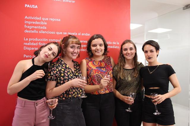 """Inauguración expo """"Pausa"""" en Sala Cable al Arte"""