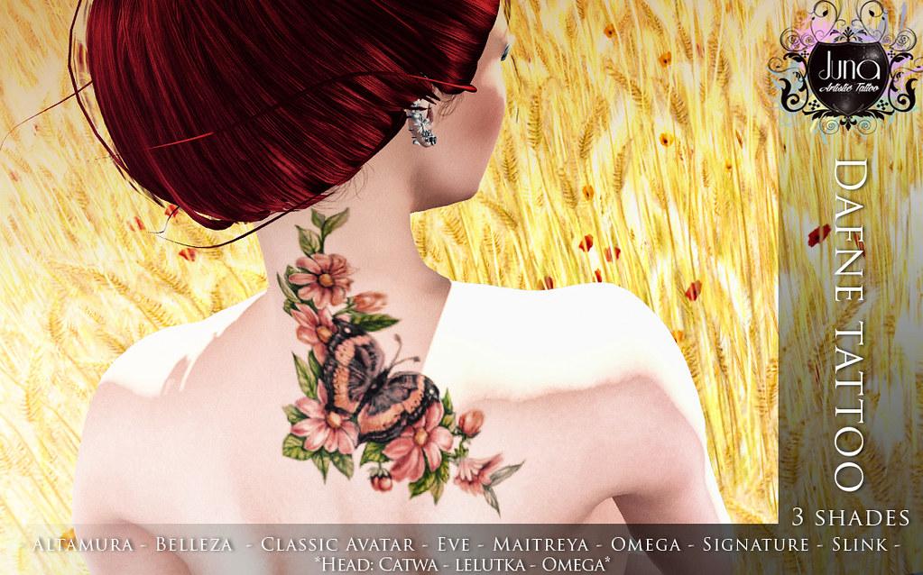 Dafne tattoo - TeleportHub.com Live!
