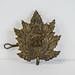 2017-26-001-1 WW1 Cap badge of the 255th Battalion