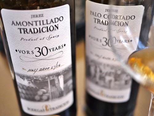 Amontillado e Palo Cortado vors 30 years/ Tradicion