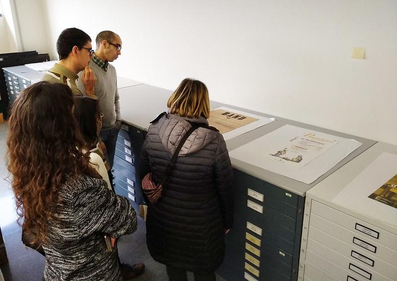 Visita a l'Arxiu Municipal de l'Hospitalet de Llobregat