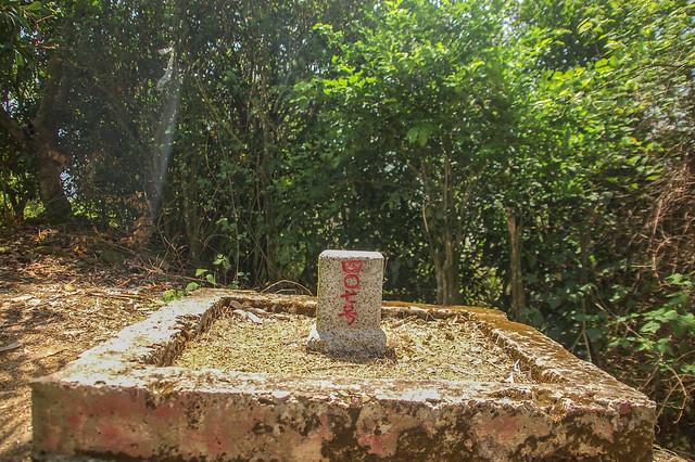 南化牛埔山三等三角點(# 407 Elev. 165 m) 2