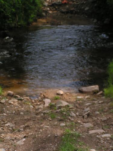 20080516 23818 0906 Jakobus Weg Stein Bach Wasser
