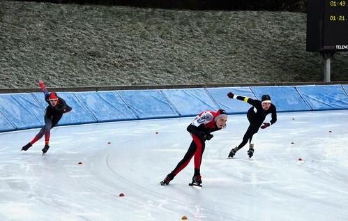NRW-Meisterschaften im Eisschnelllauf (in Grefrath)