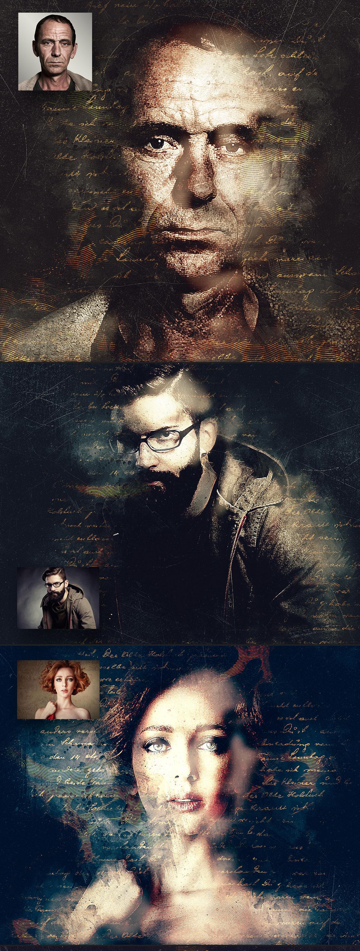 Mystery Photoshop Action CS3