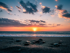 Stones - Paola, Italy - Seascape photography