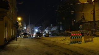 Bautzner Landstraße von Mordgrundbrücke bis Plattleite, Weisser-Hirsch gesperrt 01949