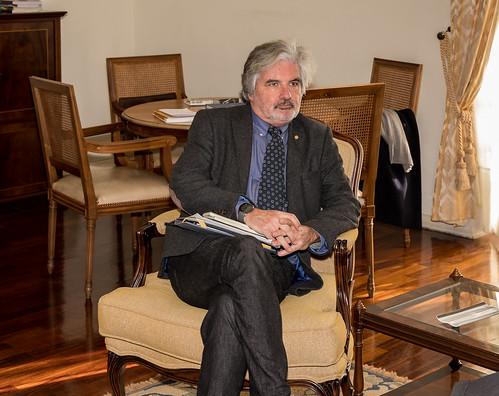 19.02. Secretário Executivo reúne com Coordenador da Comissão Temática de Ensino Superior, Ciência e Tecnologia da CPLP