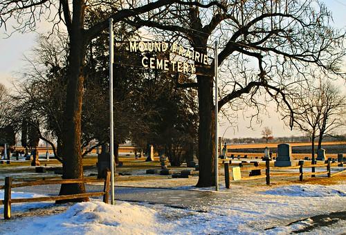 Mound Prairie Cemetery - Twin Lakes, Wisconsin