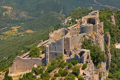 Château de Peyrepertuse - Photo of Saint-Arnac