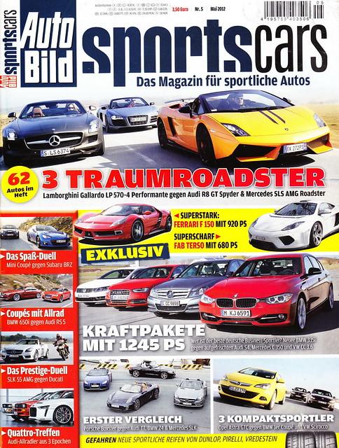Auto Bild Sportscars 5/2012