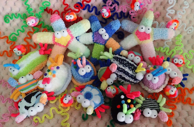 Plushie sea creatures