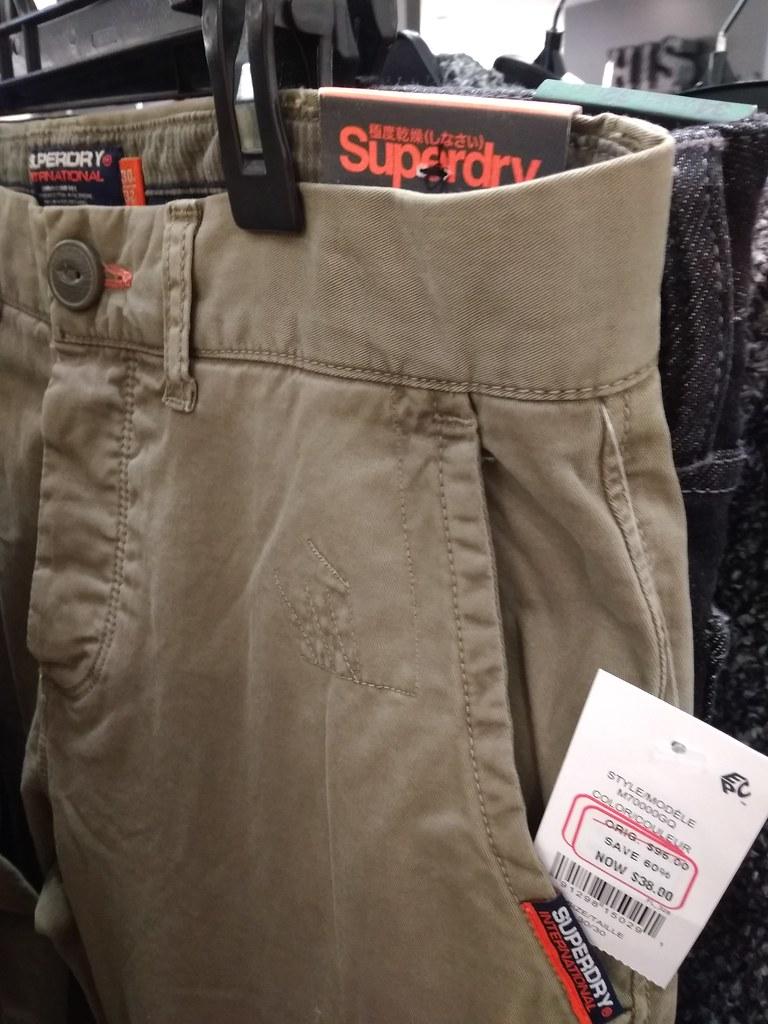 SuperDry Pants $26.6