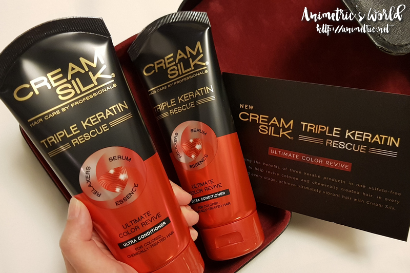 Cream Silk Triple Keratin Rescue Ultimate Color Revive