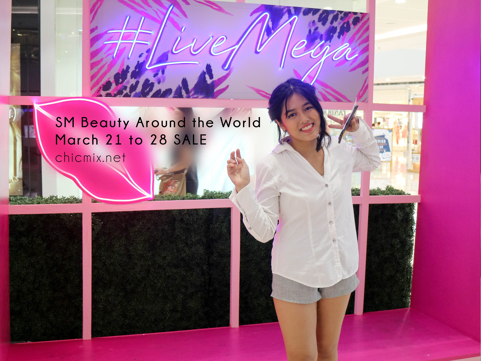 Live Mega and Get Fierce! Shop at SM Megamall's Beauty Around the World