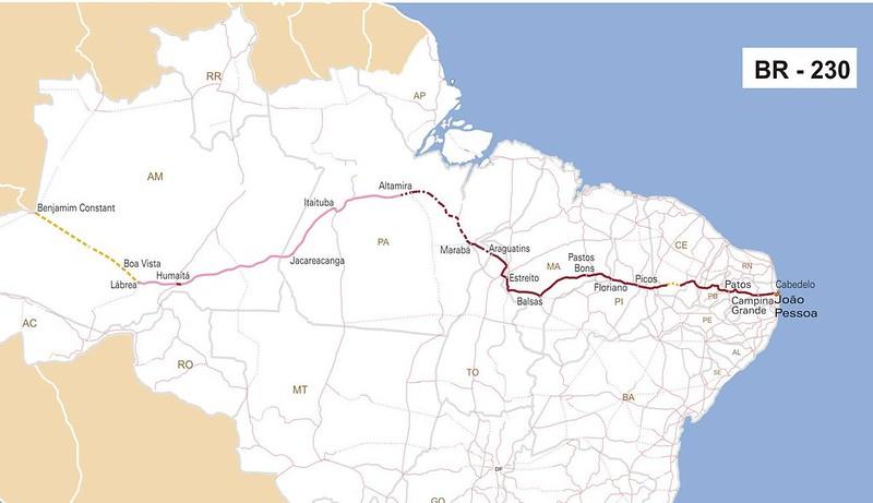 carretera (BR-230)