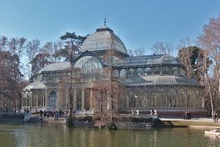 Image of Palacio de Cristal. españa madrid spain crystalpalace palaciodecristal parquederetiro retiro