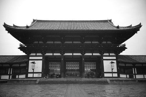 Todai-ji Temple Middle Gate