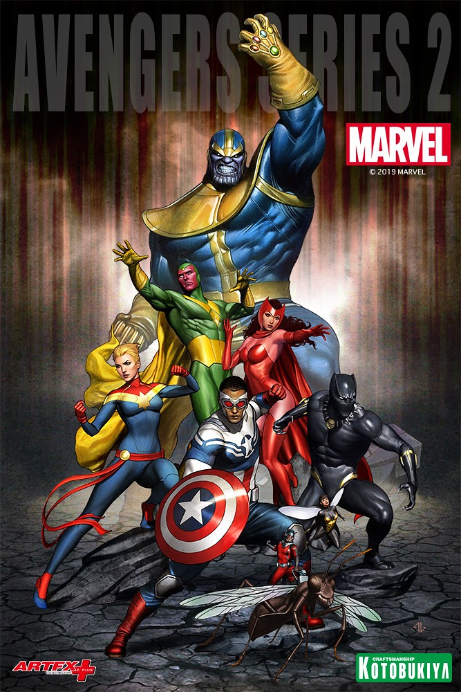 打倒瘋狂泰坦不可或缺的力量!! 壽屋 ARTFX+ 系列 Marvel Universe【驚奇隊長】キャプテン・マーベル
