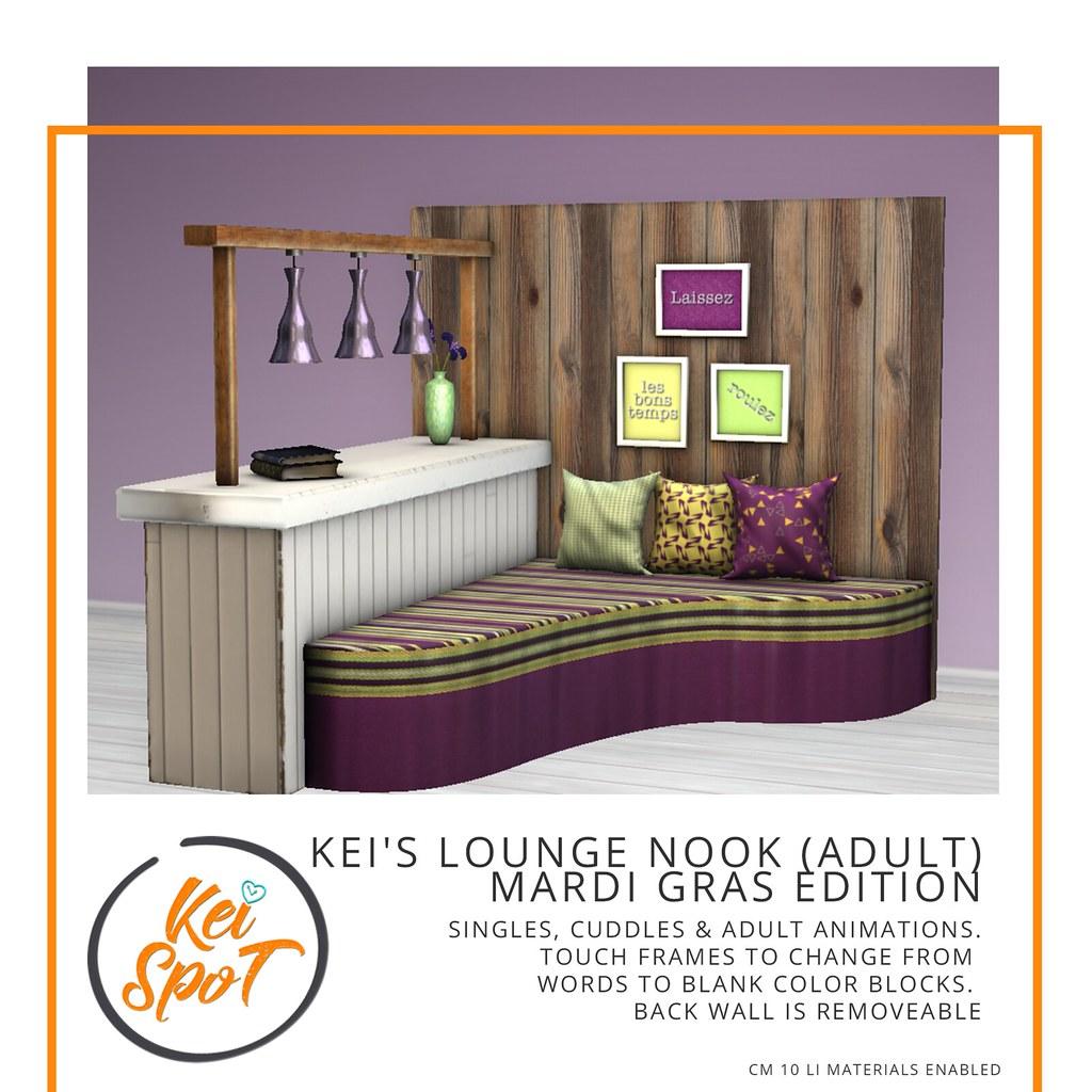 Kei's Lounge Nook (Mardi Gras)