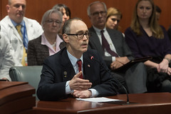 Rep. Arthur O'Neill testifies in favor of legislation before the Public Health Committee