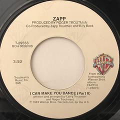 ZAPP:I CAN MAKE YOU DANCE(LABEL SIDE-B)