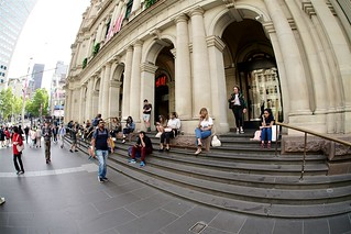 GPO steps, Melbourne | by Joe Lewit